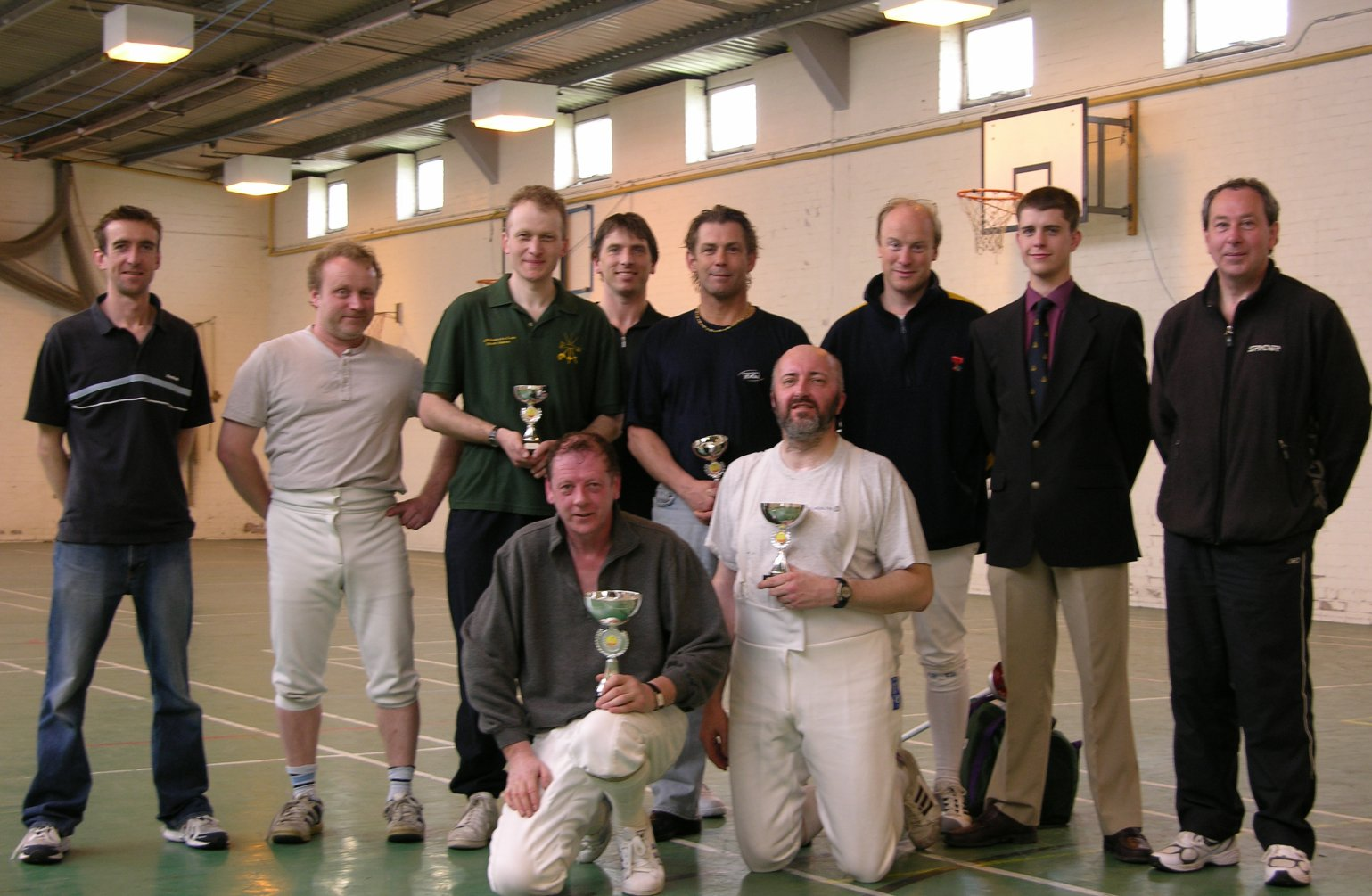 Frisby Fencers at the County Team Championships