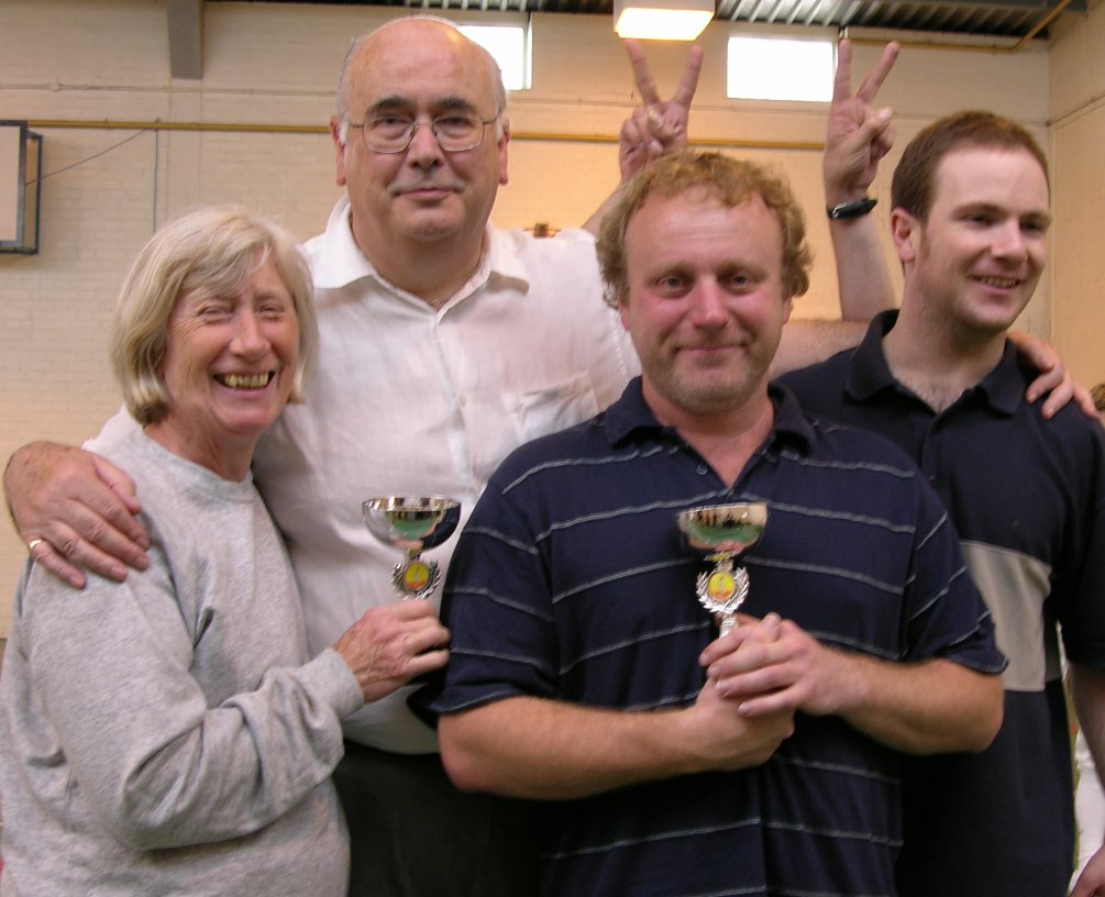 Frisby Fencers winning teams at the County Team Epee Championships.2jpg
