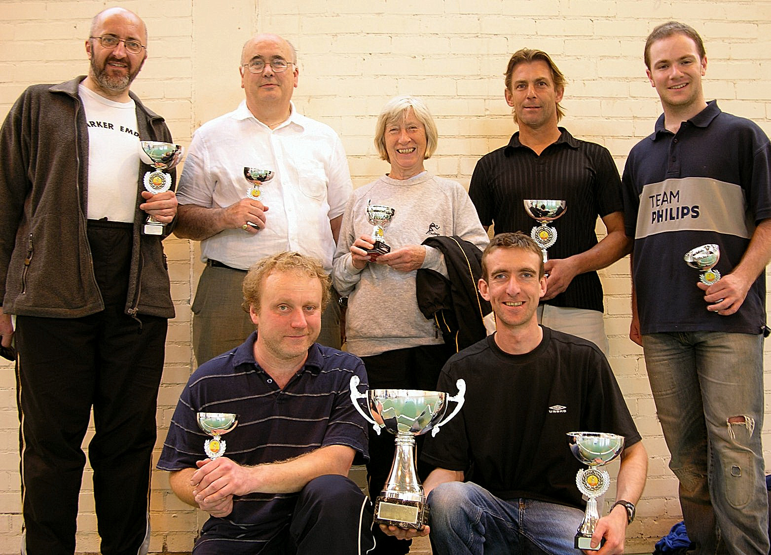 Frisby Fencers winning teams at the County Team Epee Championships