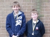 Felix Swinbank and Owen Jordan at the BYC Qualifiers
